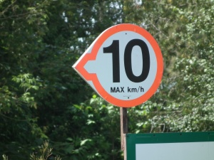 boating speed limit